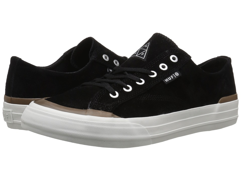 HUF - Classic Lo (Black/Gum) Men's Skate Shoes