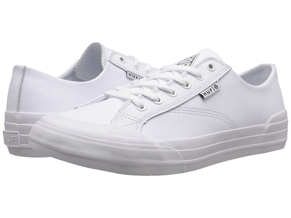HUF - Classic Lo (White) Men's Skate Shoes