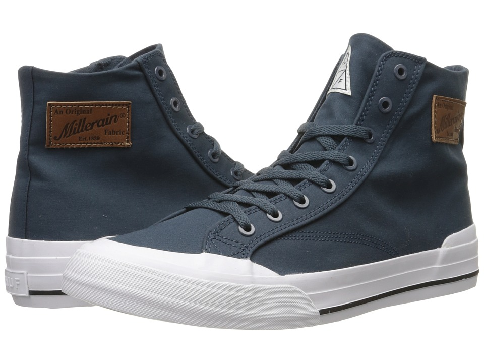 HUF - Classic Hi (Navy) Men's Skate Shoes