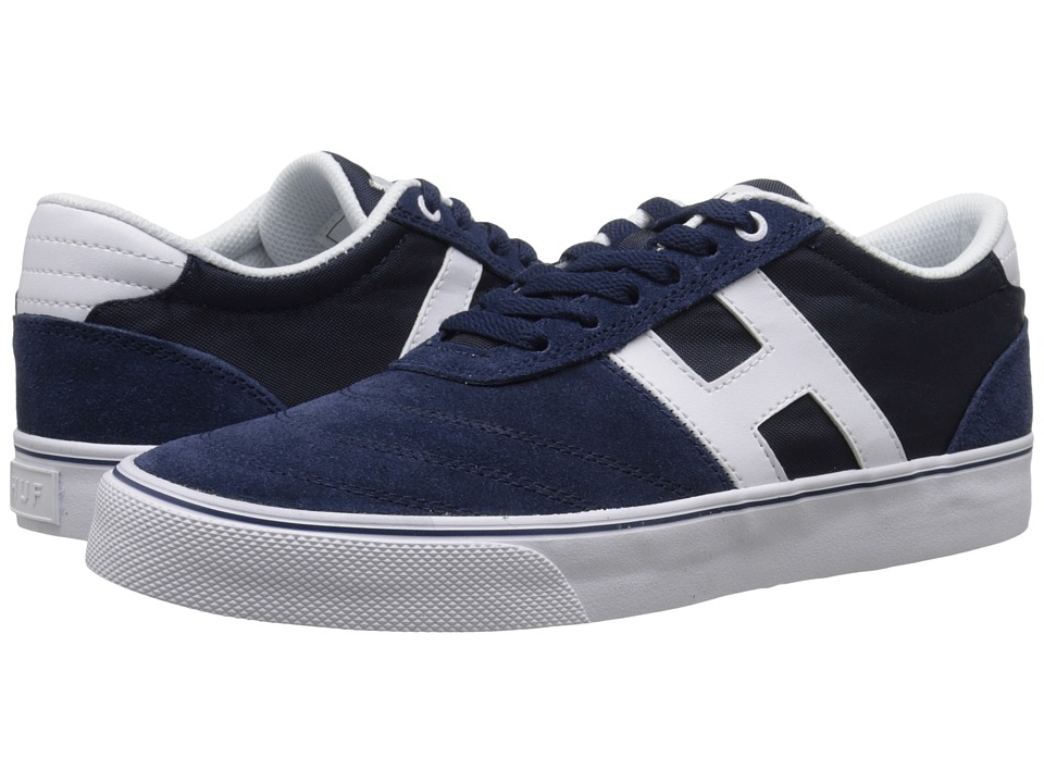 HUF - Galaxy (Navy/White) Men's Skate Shoes