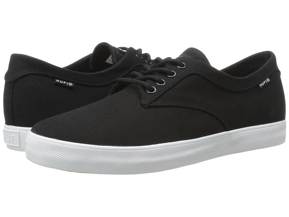 HUF - Sutter (Black 2) Men's Skate Shoes