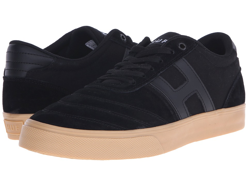 HUF - Galaxy (Black/Gum) Men's Skate Shoes
