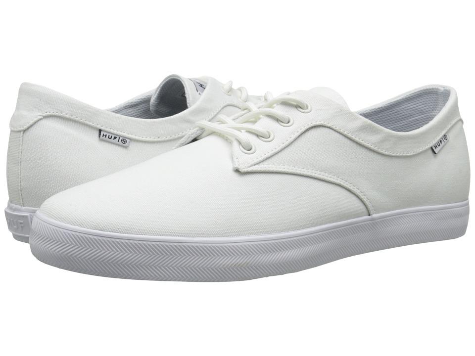 HUF - Sutter (White 2) Men's Skate Shoes
