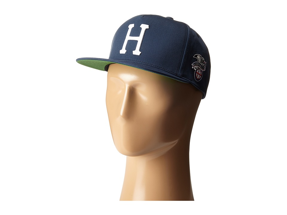 HUF - Classic H Snapback (Navy) Caps