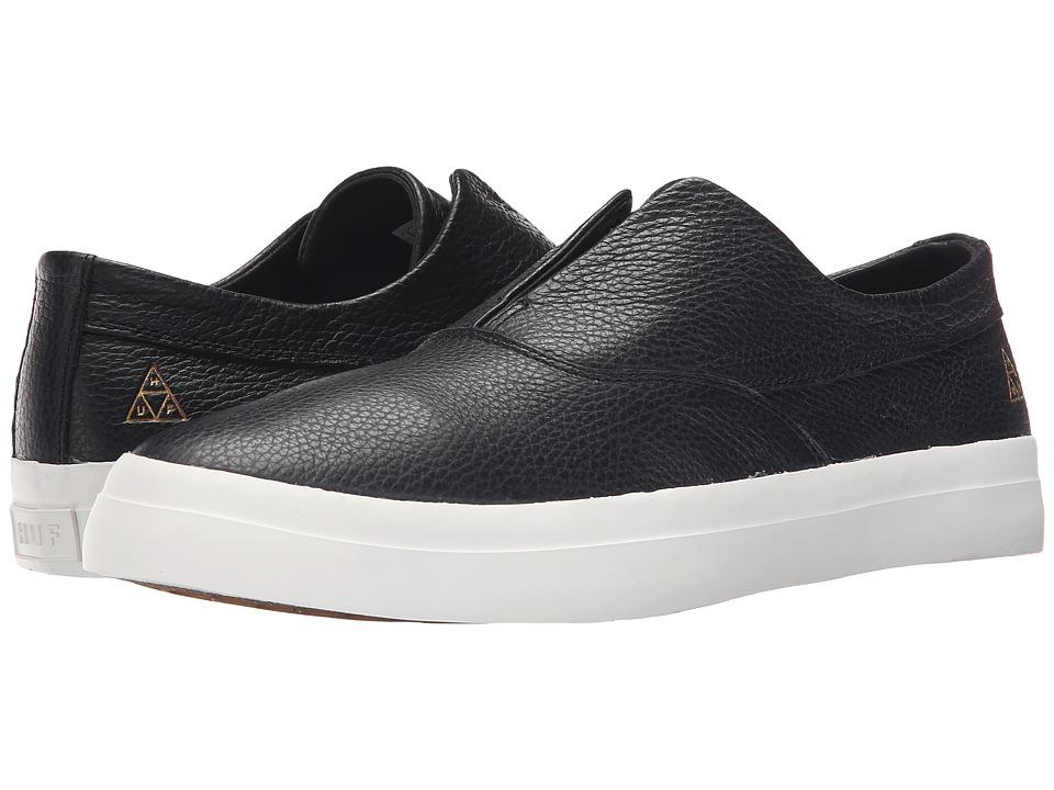 HUF - Dylan Slip-On (Black) Men's Skate Shoes