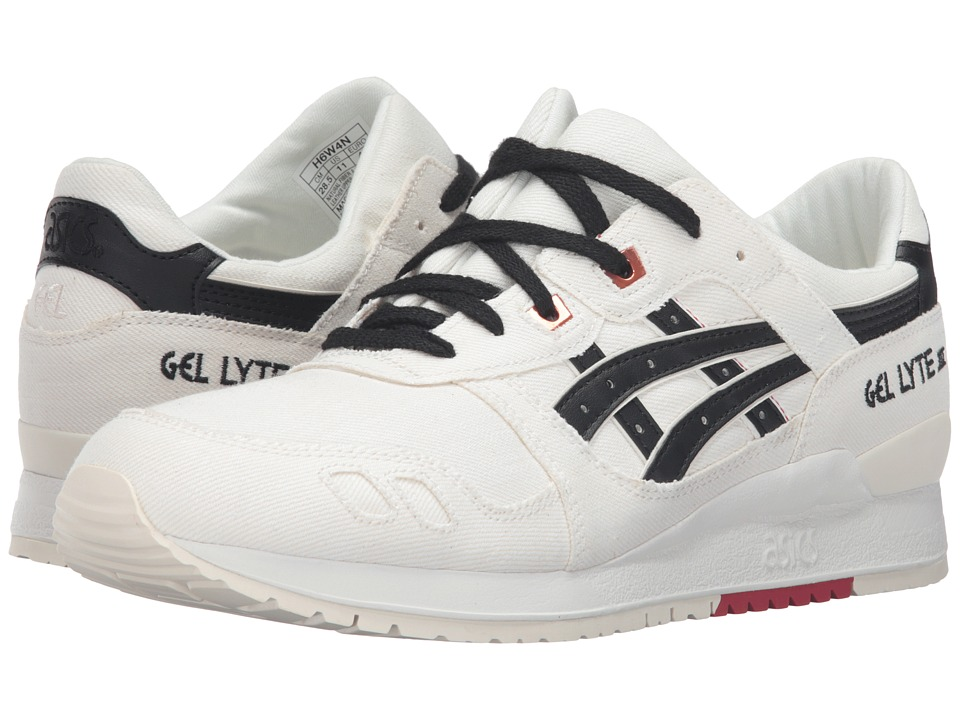 ASICS Tiger - Gel-Lyte III (Slight White/Black) Classic Shoes