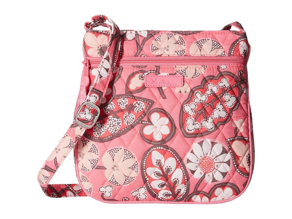 Vera Bradley - Petite Double Zip Hipster (Blush Pink) Handbags