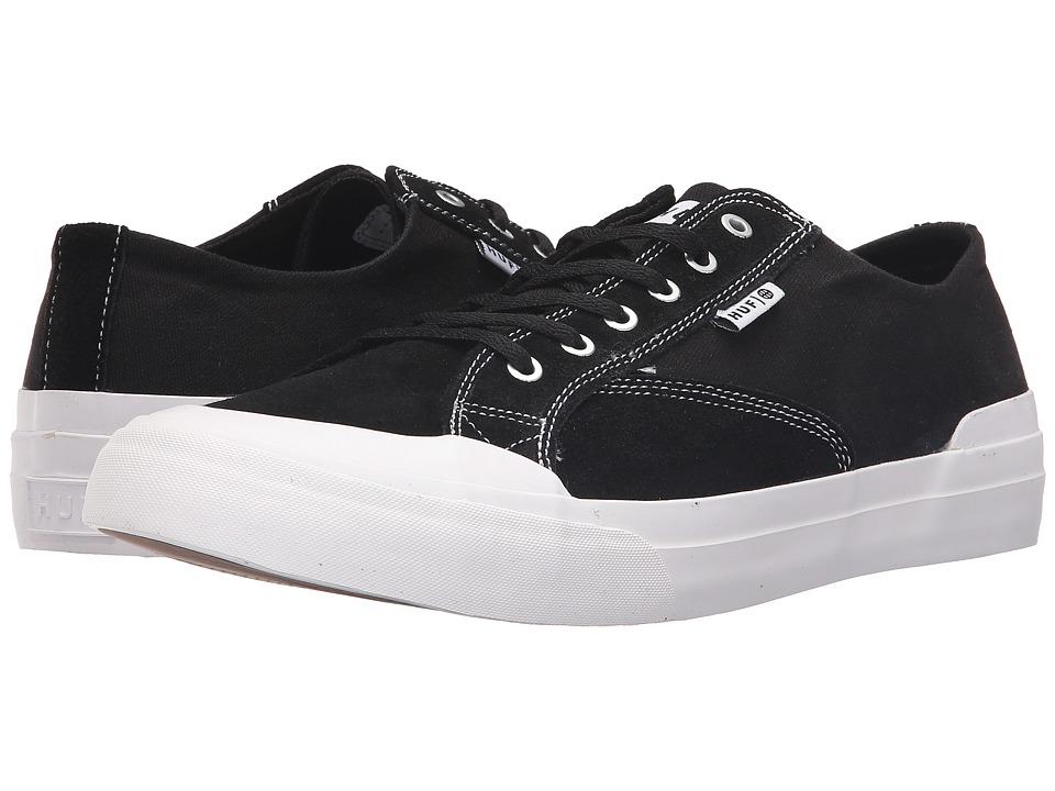 HUF Classic Lo Ess (Black/White) Men's Skate Shoes