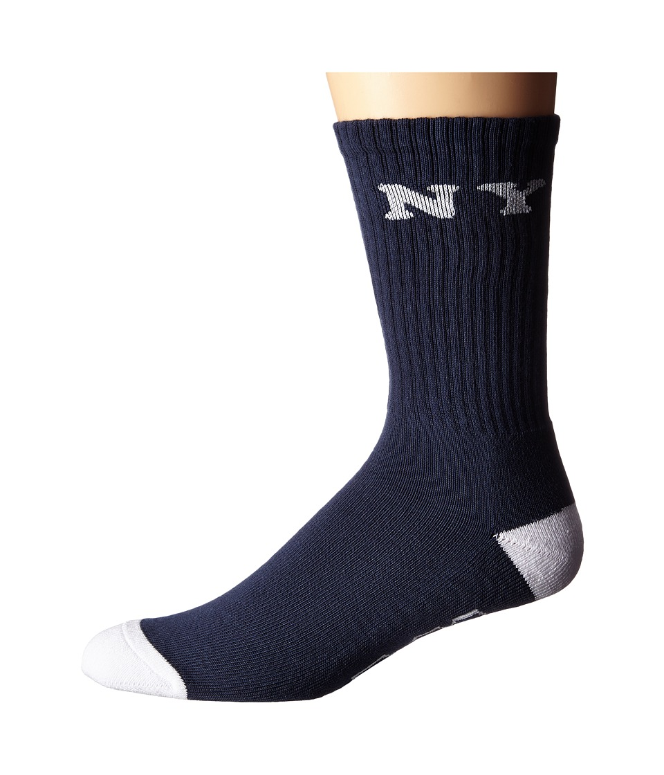 HUF - Cities Crew Sock (Navy) Men's Crew Cut Socks Shoes