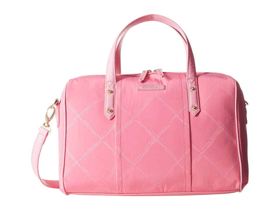 Vera Bradley - Preppy Poly Marlo Satchel (Blossom Pink) Satchel Handbags