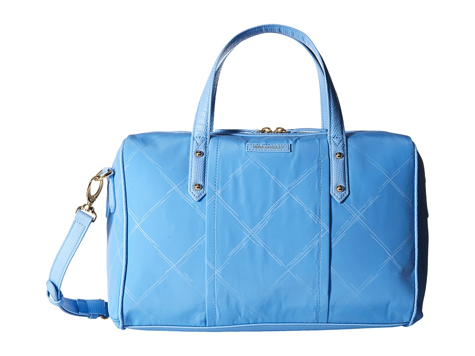 Vera Bradley - Preppy Poly Marlo Satchel (Sky Blue) Satchel Handbags