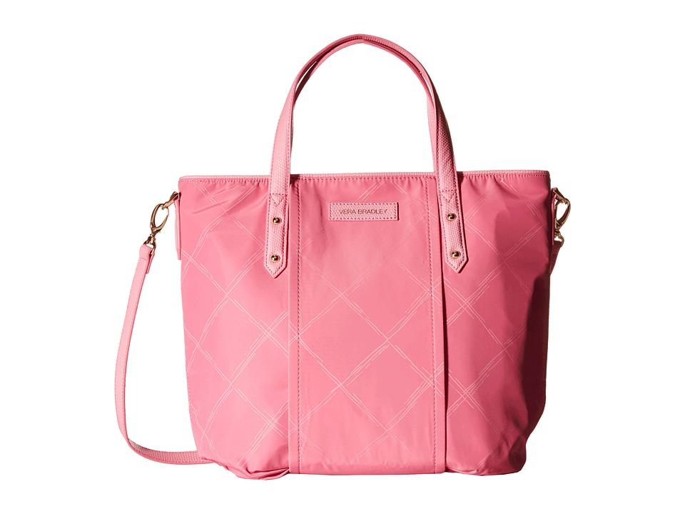 Vera Bradley - Preppy Poly Satchel (Blossom Pink) Satchel Handbags