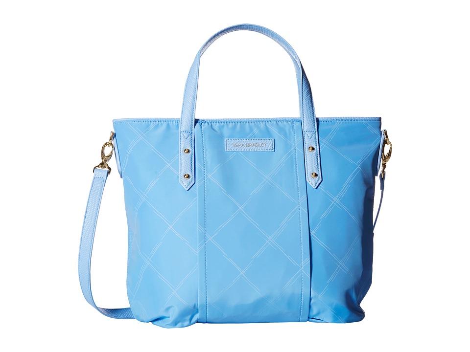 Vera Bradley - Preppy Poly Satchel (Sky Blue) Satchel Handbags
