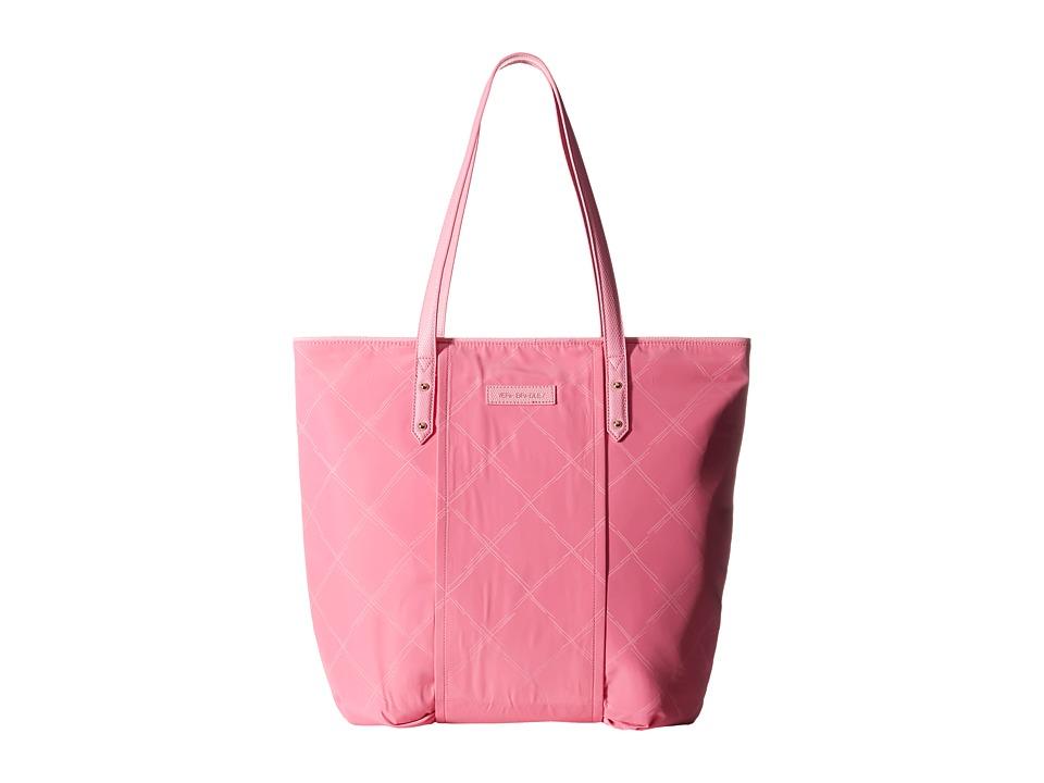 Vera Bradley - Preppy Poly Tote (Blossom Pink) Tote Handbags