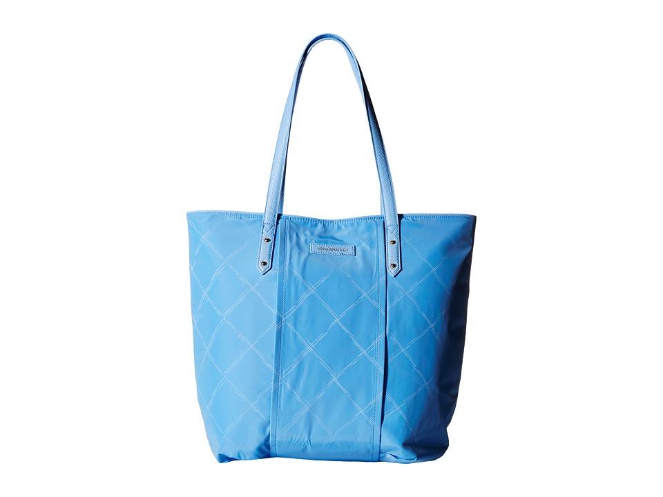 Vera Bradley - Preppy Poly Tote (Sky Blue) Tote Handbags