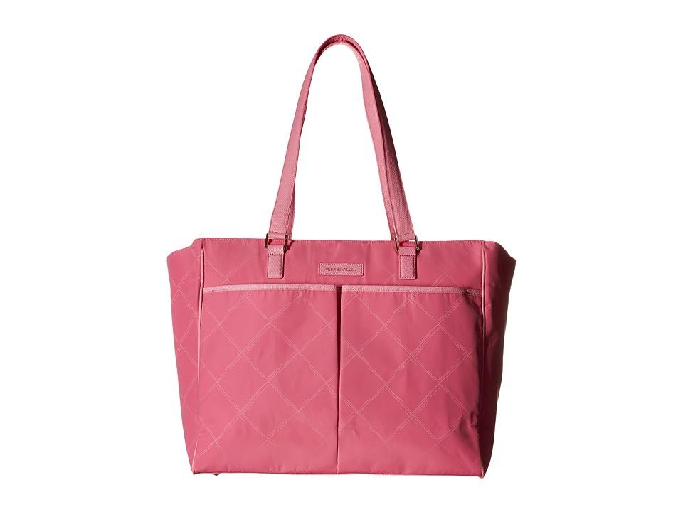 Vera Bradley - Preppy Poly Uptown Baby Bag (Blossom Pink) Diaper Bags