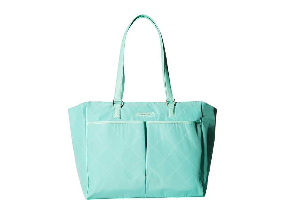 Vera Bradley - Preppy Poly Uptown Baby Bag (Mint) Diaper Bags