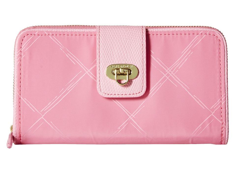 Vera Bradley - Preppy Poly Wallet (Blossom Pink) Wallet Handbags