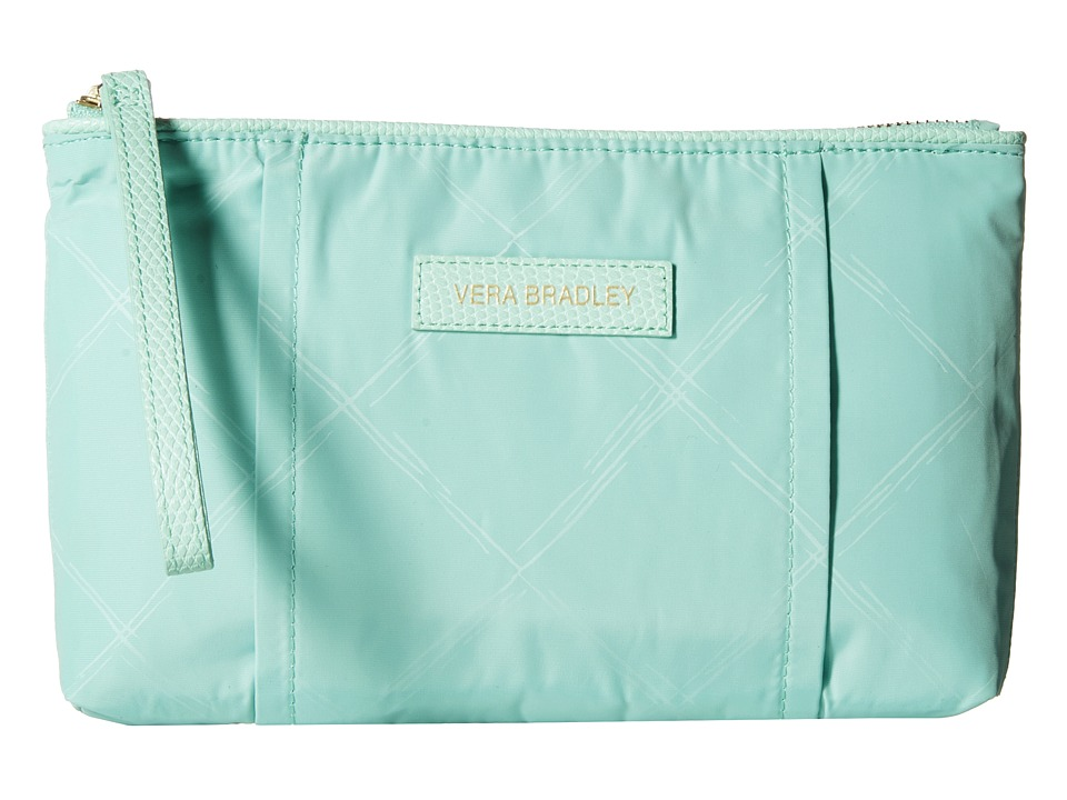 Vera Bradley - Preppy Poly Wristlet (Mint) Wristlet Handbags