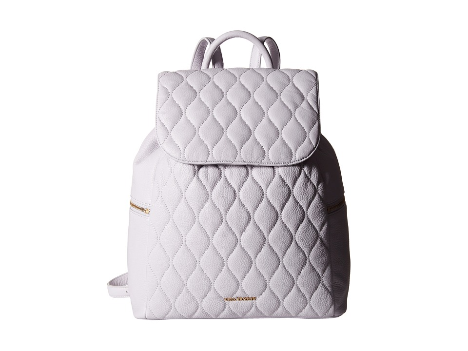 Vera Bradley - Quilted Amy Backpack (Cloud Gray) Backpack Bags