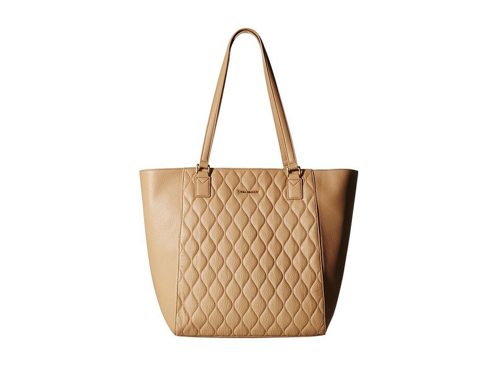 Vera Bradley - Quilted Ella Tote (Nude) Tote Handbags