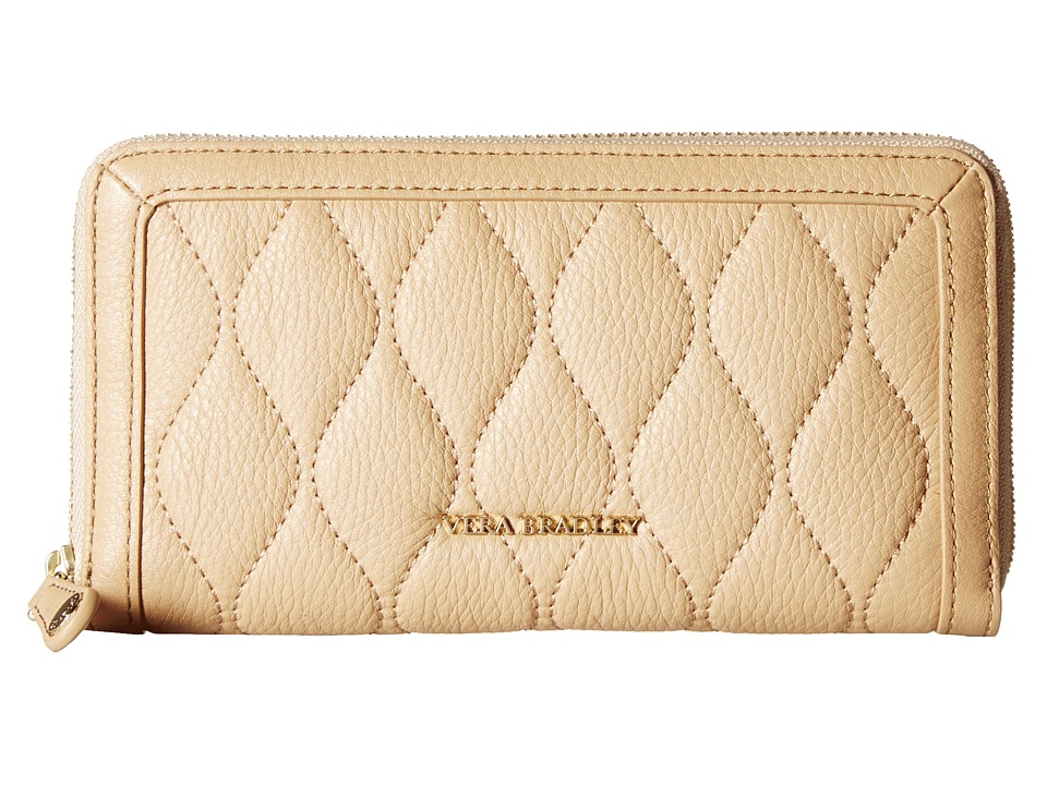 Vera Bradley - Quilted Georgia Wallet (Nude) Bill-fold Wallet