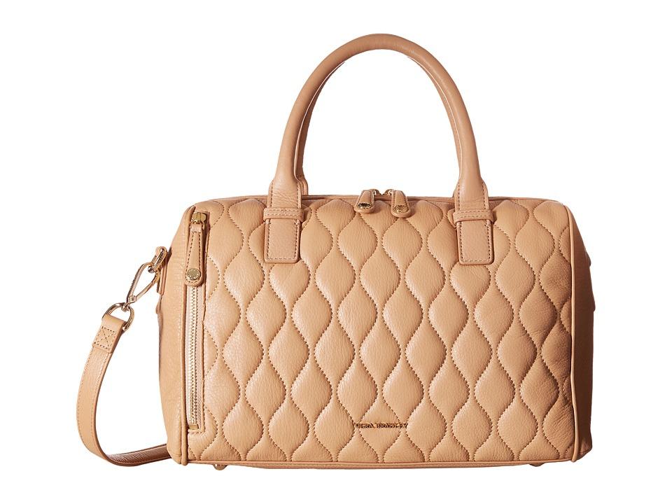 Vera Bradley - Quilted Marlo Satchel (Nude) Satchel Handbags