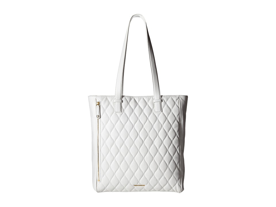 Vera Bradley - Quilted Leah Tote (White) Tote Handbags