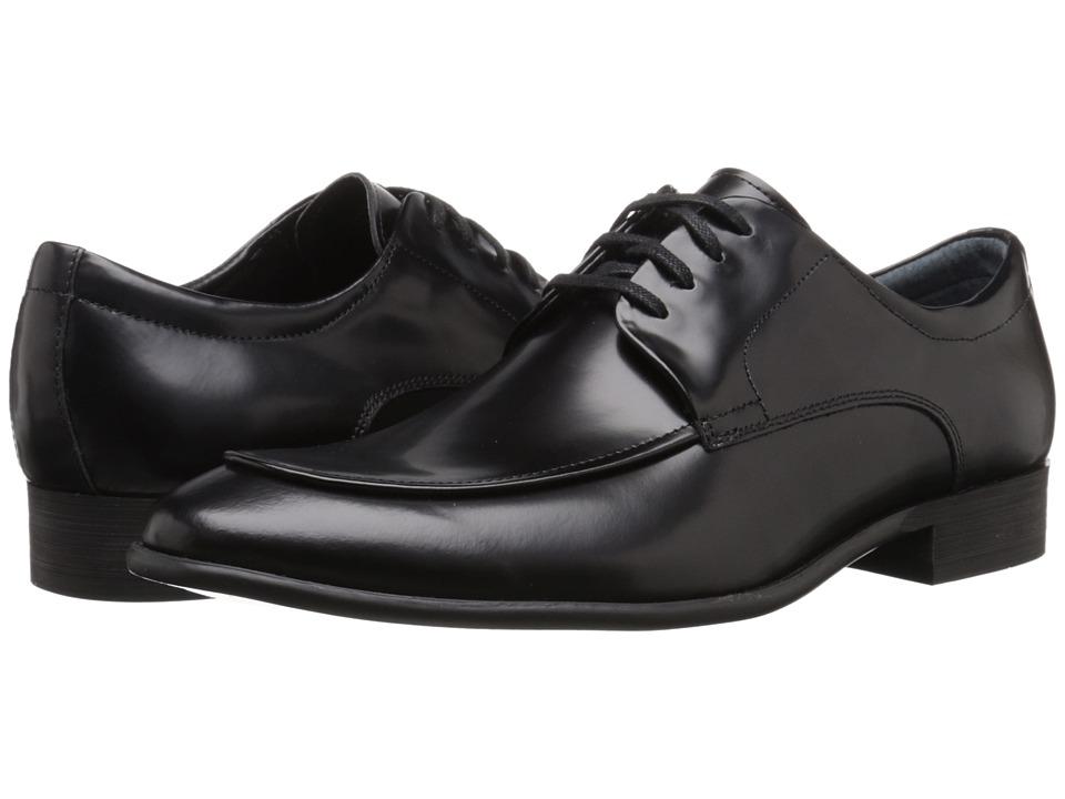Calvin Klein - Valient (Black Box Leather) Men's Lace up casual Shoes