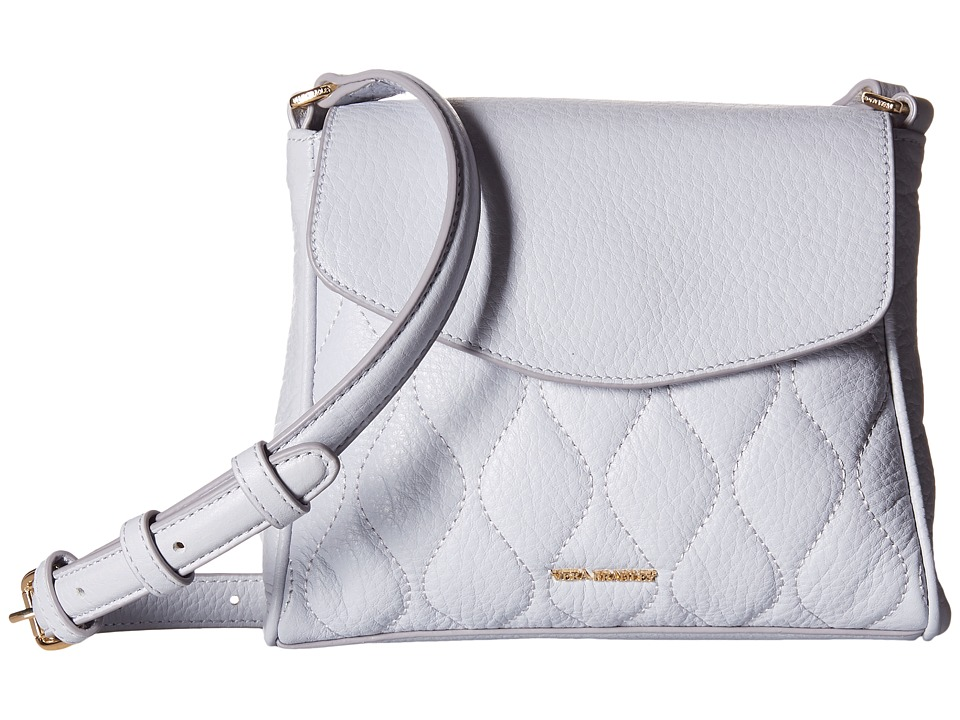 Vera Bradley - Quilted Sarah Crossbody (Cloud Gray) Cross Body Handbags