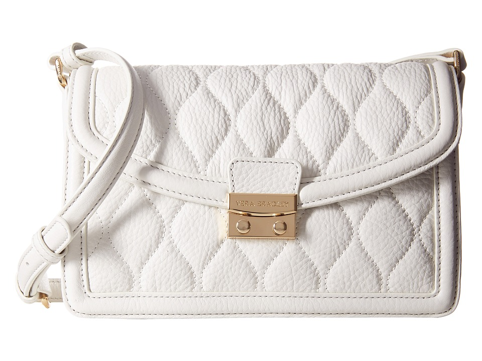 Vera Bradley - Quilted Tess Crossbody (White) Cross Body Handbags