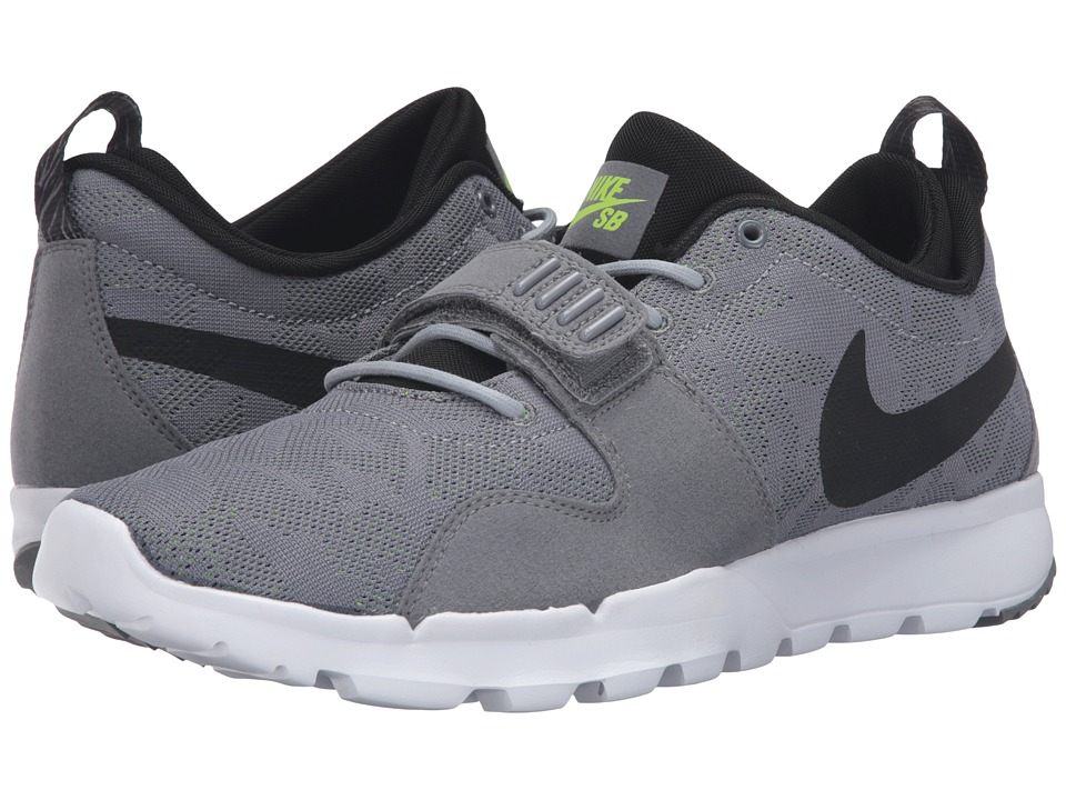Nike SB - Trainerendor (Cool Grey/Black/White/Volt) Men's Skate Shoes