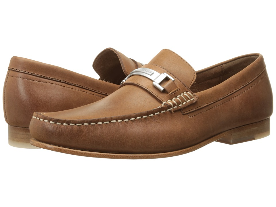 Calvin Klein Bruce (Tan Washed Leather) Men