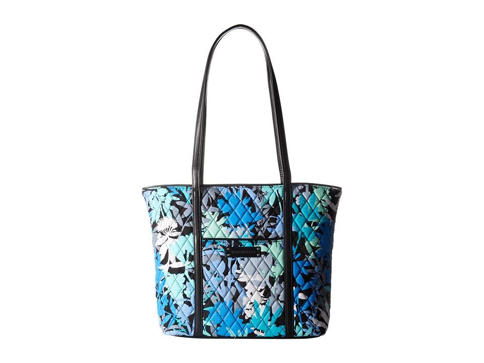 Vera Bradley - Small Trimmed Vera (Camofloral/Black) Tote Handbags