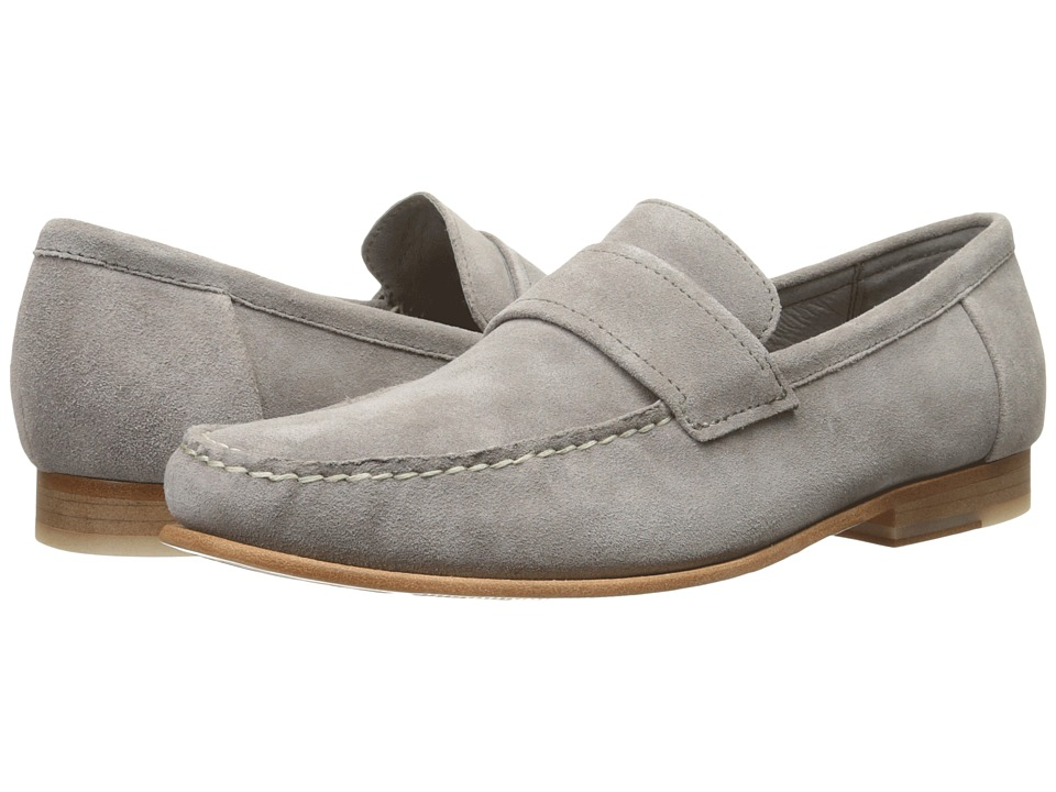 Calvin Klein Baron Toffee Oily Suede Mens Shoes