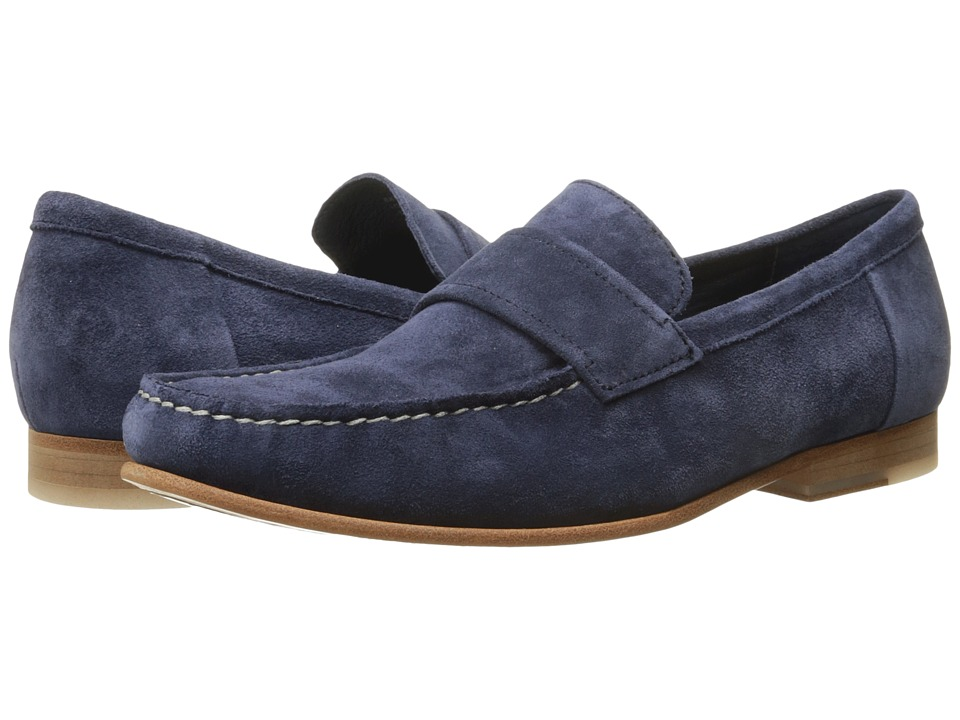 Calvin Klein - Baron (Dark Navy Oily Suede) Men