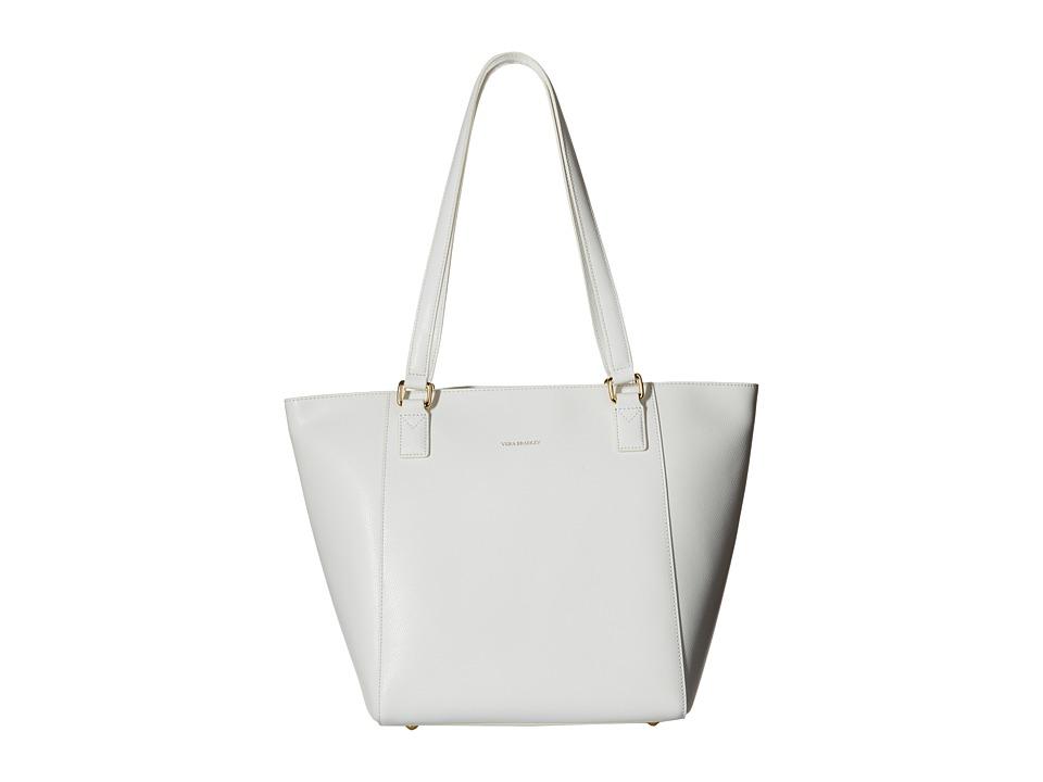 Vera Bradley - Small Ella Tote (Oyster) Tote Handbags