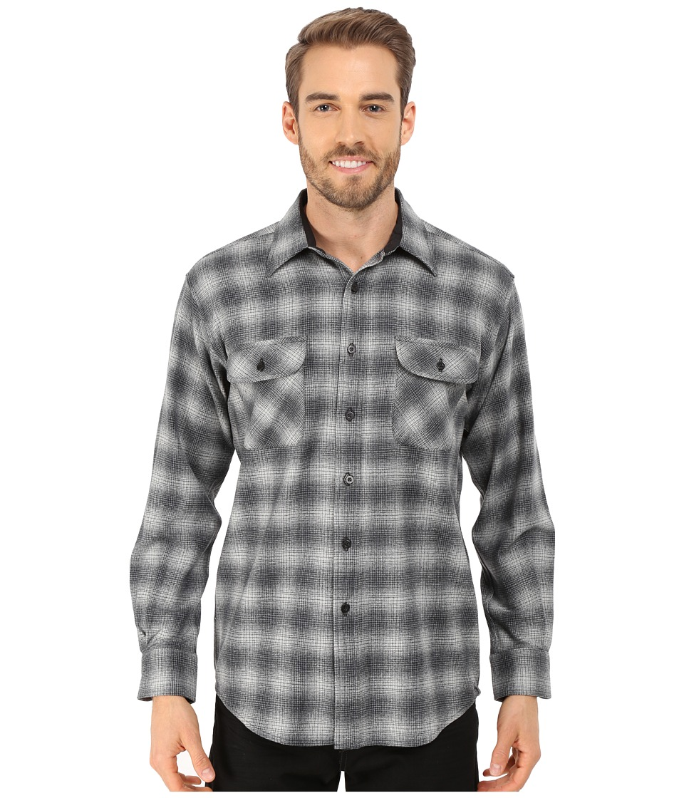 Pendleton - L/S Field Shirt (Charcoal Shadow) Men's Long Sleeve Button Up