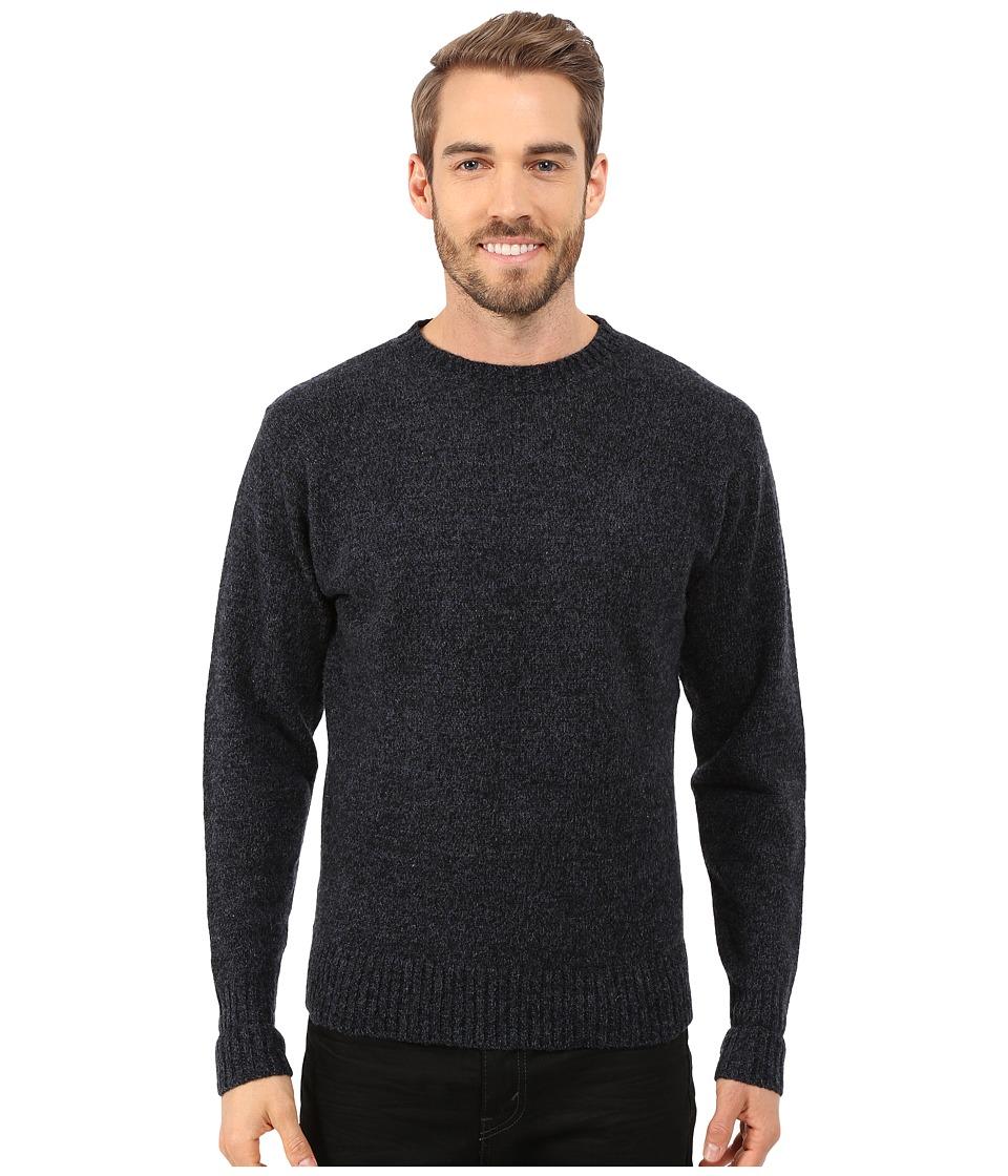 Pendleton - Shetland Crew Sweater (Indigo/Black) Men