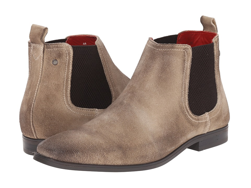 Base London - William (Beige) Men's Pull-on Boots