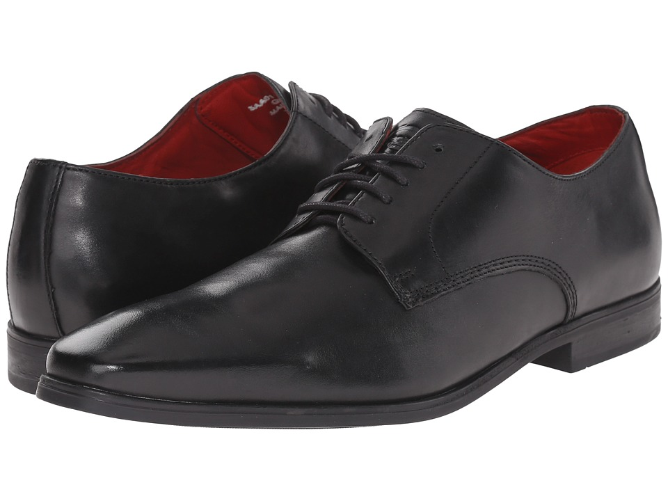 Base London - George (Black) Men's Shoes