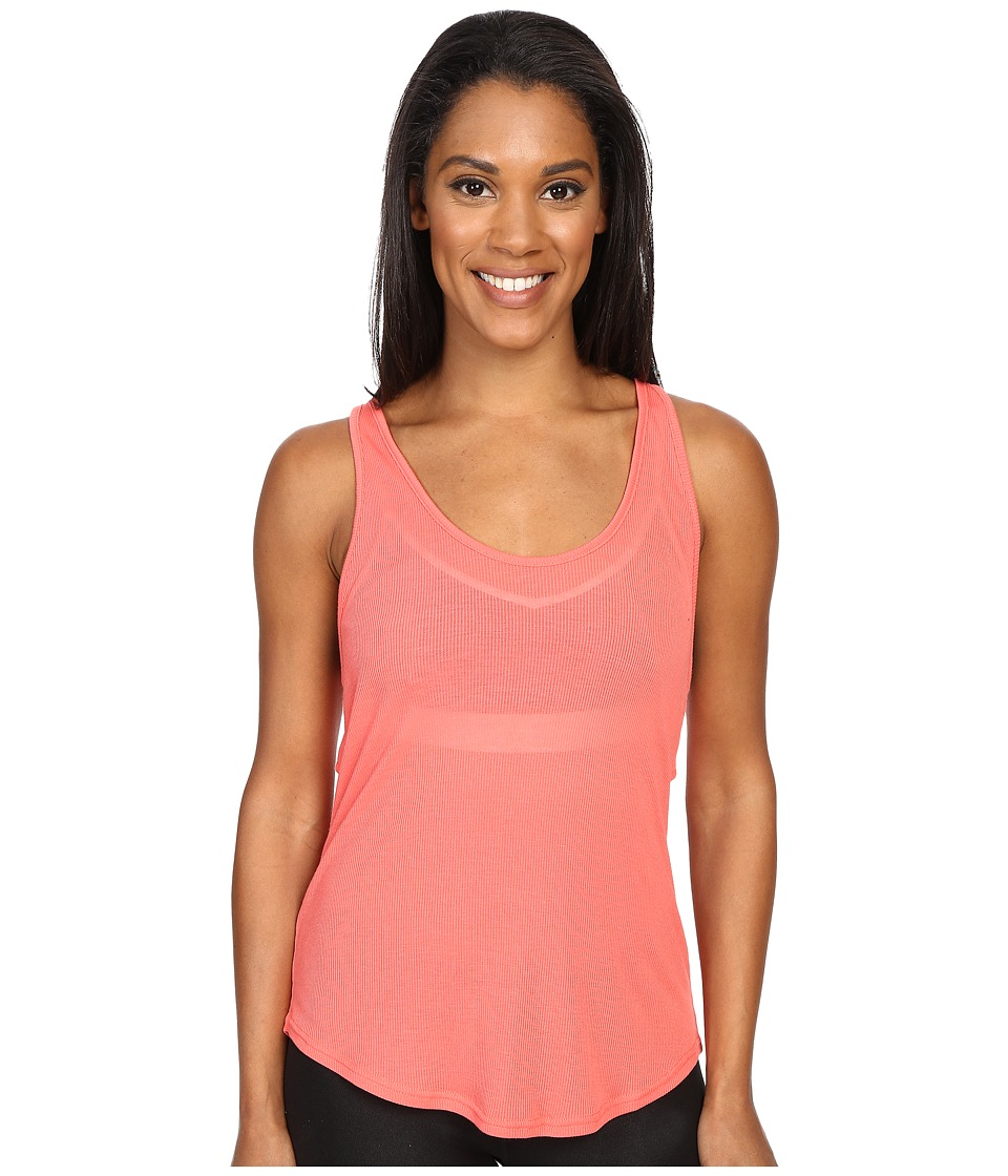 ALO - Sculpt Tank Top (Guava) Women's Sleeveless
