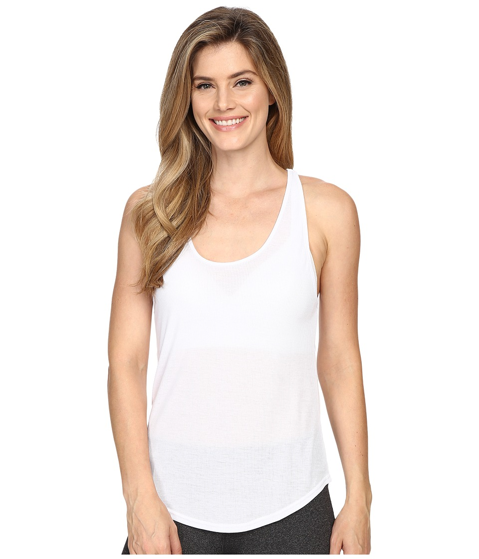 ALO - Sculpt Tank Top (White) Women's Sleeveless