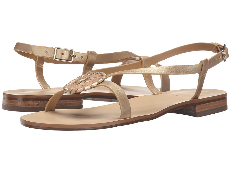 Jack Rogers - Mollie (Cork/Gold) Women's Sandals