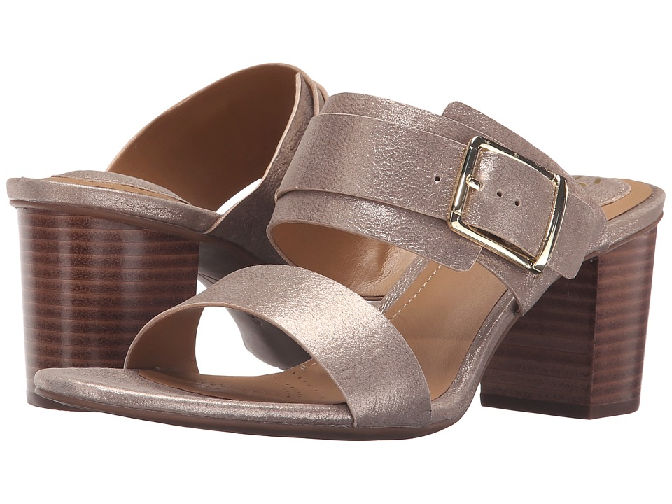 Clarks Ralene Rose (Champagne Metallic Leather) High Heels