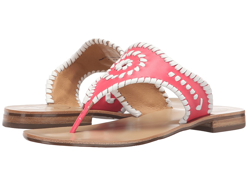 Jack Rogers Blair (Bright Pink/White) Women's Sandals