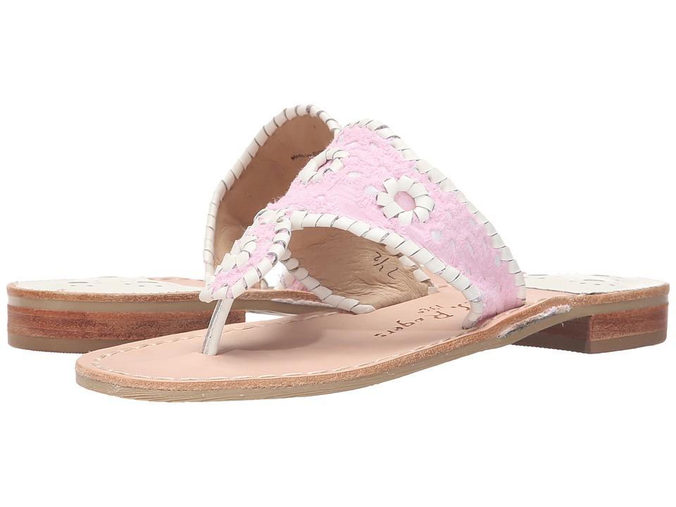 Jack Rogers - Jacks Eyelet (Pink) Women's Sandals