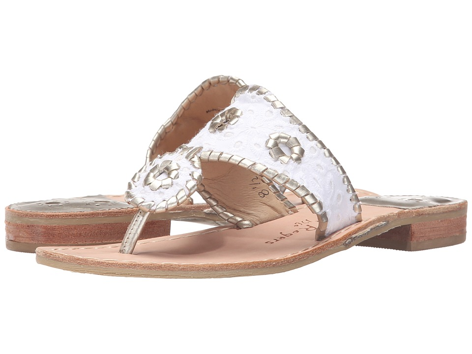 Jack Rogers - Jacks Eyelet (White) Women's Sandals
