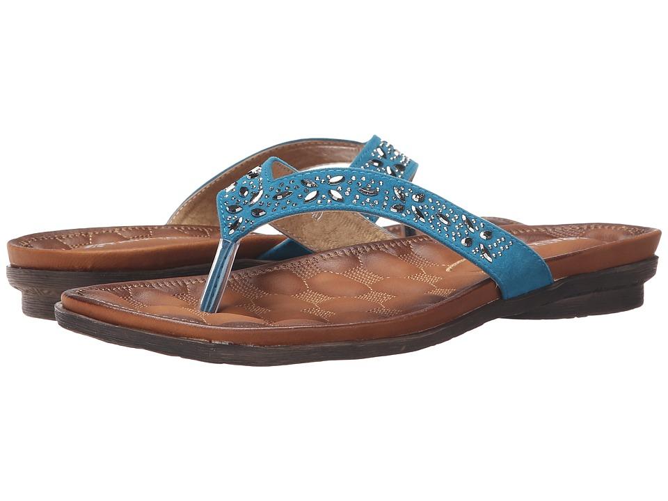 PATRIZIA - Soren (Teal) Women's Sandals