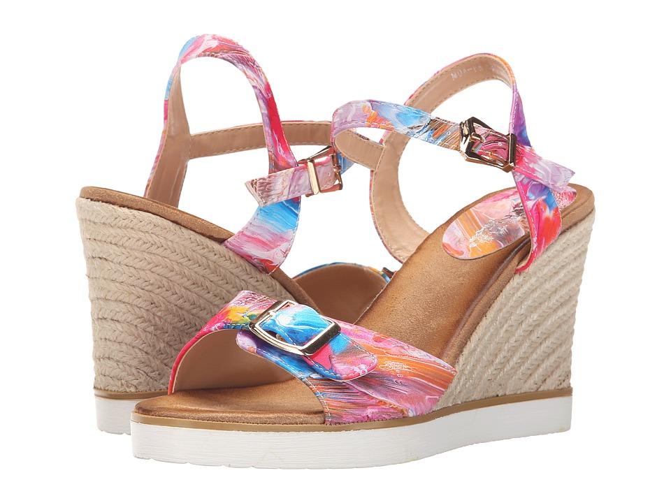 PATRIZIA - Moa (Pink) Women's Wedge Shoes